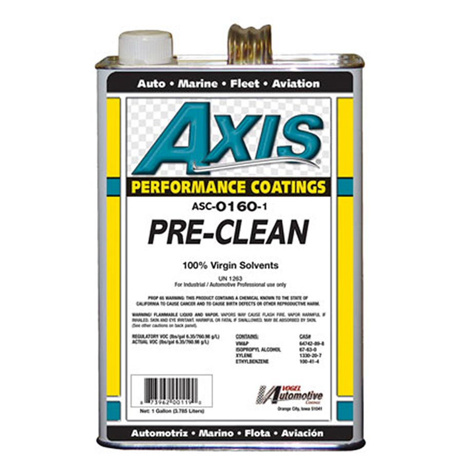 Axis Coatings Pre-Clean - AXI-ASC0160-1