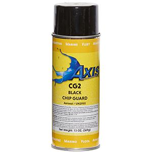 Axis Coatings Black Chip Guard Aerosol - AXI-CG2